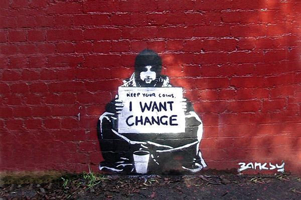 keep your coins_bansky_